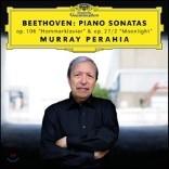 Murray Perahia 베토벤: 피아노 소나타 29번 '함머클라비어', 14번 '월광'
