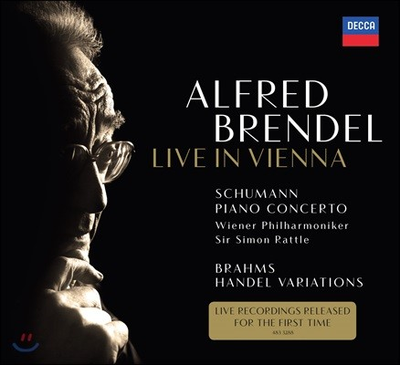 Alfred Brendel 알프레드 브렌델 오스트리아 방송 미발매 녹음 - 슈만: 협주곡 / 브람스: 헨델 변주곡 (Live in Vienna - Schumann / Brahms)