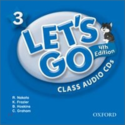 [4판]Let's Go 3 : Class Audio CDs