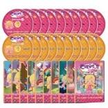 클로이의 요술옷장 3집 20종세트 (DVD10종 + CD10종)