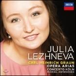 Julia Lezhneva 카를 하인리히 그라운: 오페라 아리아