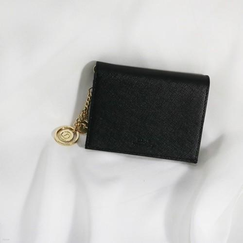 D.LAB Minette Half Wallet - Black