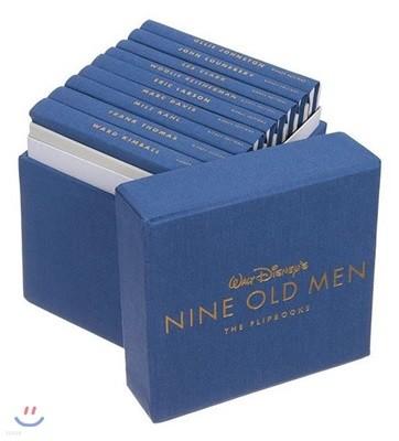 Walt Disneys Nine Old Men : The Flipbooks : 월트 디즈니 애니메이션 스튜디오 아카이브 시리즈 (1세대 원로 작가 원화집/아트북)