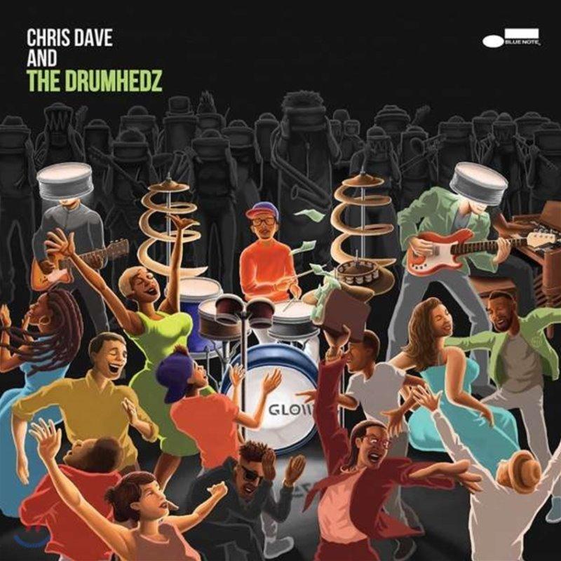 Chris Dave And The Drumhedz (크리스 데이브 앤 더 드럼헤즈) - Chris Dave And The Drumhedz [2 LP]