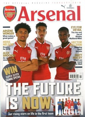 Arsenal, The Official Magazine (월간) : 2018년 02월