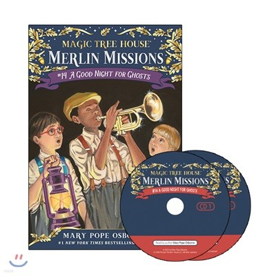 Merlin Mission #14 : A Good Night for Ghosts  (Book + CD)