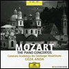 ������Ʈ : �ǾƳ� ���ְ� ���� (Mozart : The Piano Concertos) (8CD) - Geza Anda