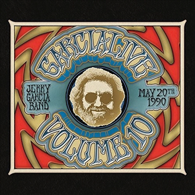 Jerry Garcia - Garcialive Volume Ten: May 20th, 1990 Hilo Civic Auditorium (2CD)(Digipack)
