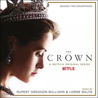 더 크라운 시즌 2 드라마 음악 (The Crown Season 2 OST by Rupert Gregson-Williams & Lorne Balfe) [골드 컬러 2 LP]