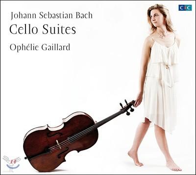 Ophelie Gaillard 바흐: 무반주 첼로 모음곡 전곡집 - 오펠리 가이야르 (Bach: Cello Suites Nos. 1-6, BWV1007-1012)