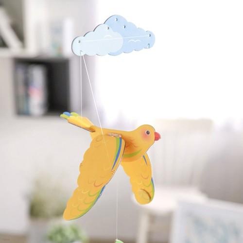 [버드힐링모빌] 날갯짓하는 새모빌 5종