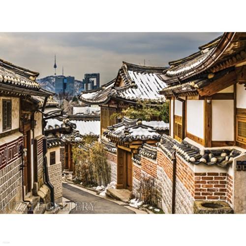 1000조각 직소퍼즐▶ 서울타워가 보이는 북촌의 거리 (PK1000-3159)