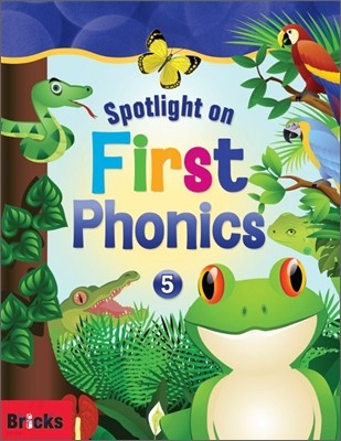 Spotlight on First Phonics 5 : Student Book + Storybook + Multi CD