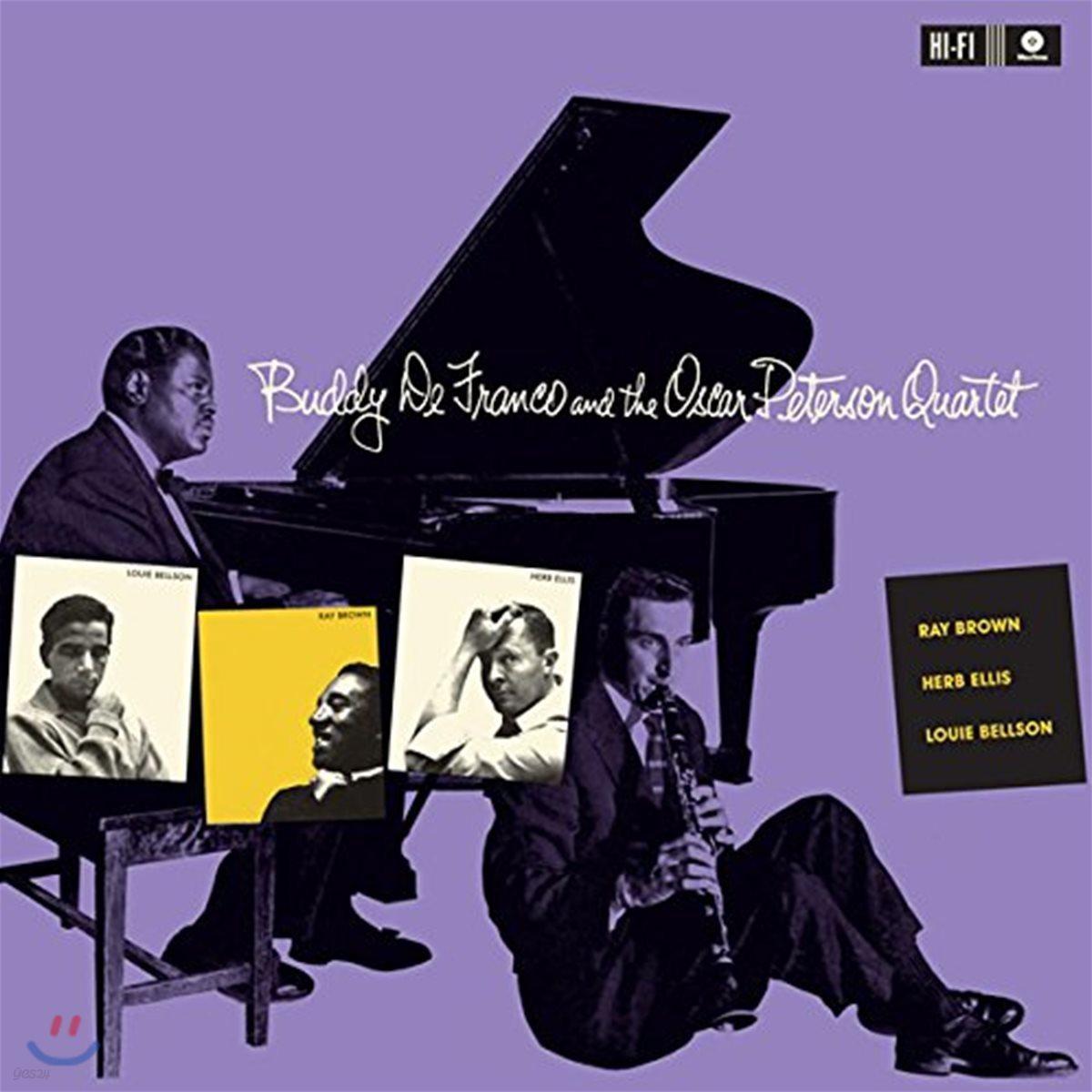 Buddy DeFranco / Oscar Peterson (버디 드프랑코 / 오스카 피터슨) - Buddy DeFranco And The Oscar Peterson Quartet [LP]