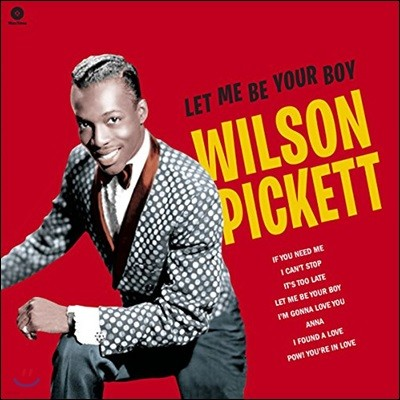 Wilson Pickett (윌슨 피켓) - Let Me Be Your Boy The Early Years, 1959-1962 [LP]