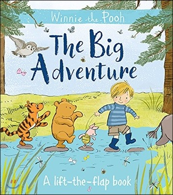 Winnie-the-Pooh: The Big Adventure (A lift-the-flap book)