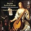 Jordi Savall / Wieland Kuijken 생트 콜롱브: 2대의 비올을 위한 연주회용 작품 - 조르디 사발 (Sieur de Sainte-Colombe: Concerts A Deux Violes Esgales)