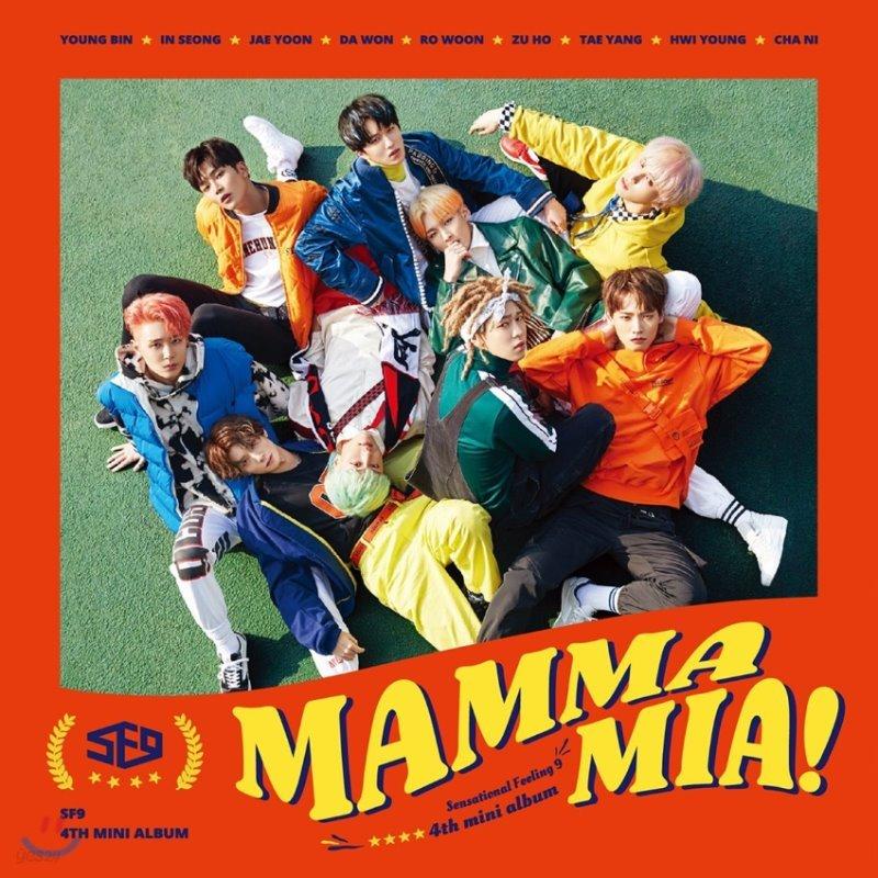 에스에프나인 (SF9) - 미니앨범 4집 : MAMMA MIA!