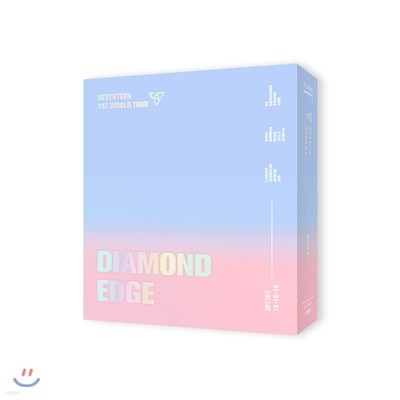 세븐틴 (Seventeen) - 2017 Seventeen 1st World Tour Diamond Edge In Seoul Concert DVD