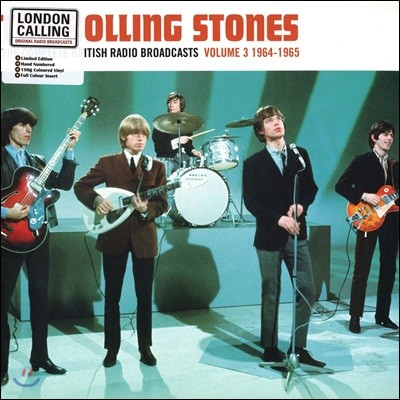 The Rolling Stones - The Complete British Radio Broadcasts Vol.3 1964-1965 [블루 컬러 LP]