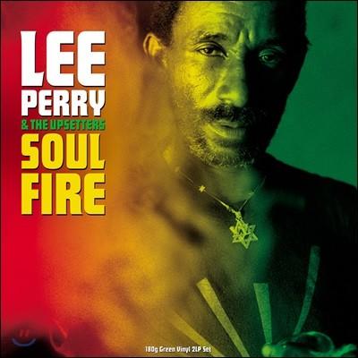 Lee Perry & the Upsetters (리 페리 & 디 업세터스) - Soul on Fire [그린 컬러 2 LP]