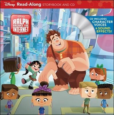 Wreck-it Ralph 2 (Read-Along Storybook & CD)