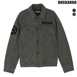 [버커루]남성 피그먼트 트러커 자켓 (B181JP330P)
