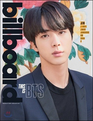 Billboard (주간) : 2018년 02월 17일 : 빌보드 BTS 방탄소년단 진 커버