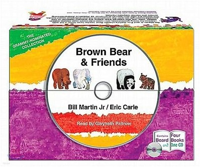 Brown Bear & Friends Set (Book & CD)
