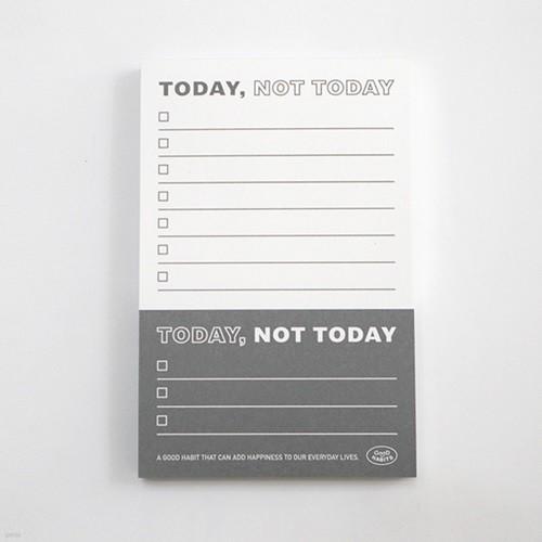 TODAY, NOT TODAY - 투데이 낫 투데이 (그레이)