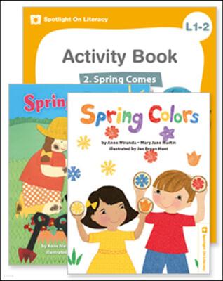 Spotlight On Literacy Level 1-2  Spring Comes 세트