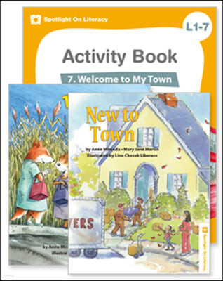 Spotlight On Literacy Level 1-7  Welcome to My Town 세트