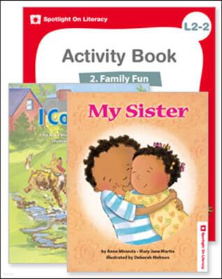 Spotlight On Literacy Level 2-2  Family Fun 세트