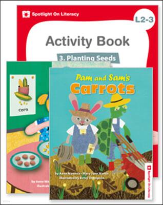 Spotlight On Literacy Level 2-3  Planting Seeds 세트
