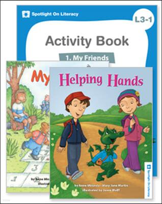 Spotlight On Literacy Level 3-1   My Friends 세트