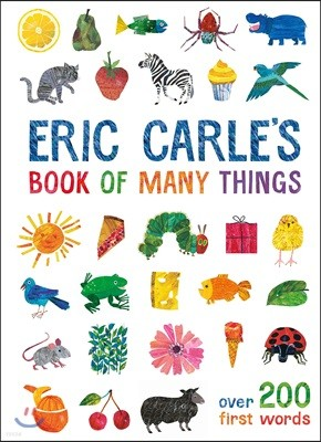 Eric Carle's Book of Many Things : 에릭칼 그림 단어 사전