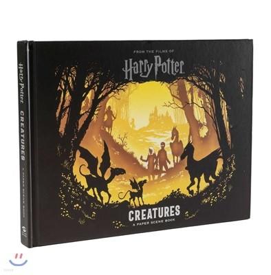 Harry Potter Creatures : A Paper-Cut Book : 해리 포터 신비한 동물들 : 페이퍼 커팅 아트북