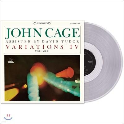 존 케이지: 변주 4, 2집 (John Cage: Variations IV Volume II) [투명 그레이 컬러 LP]