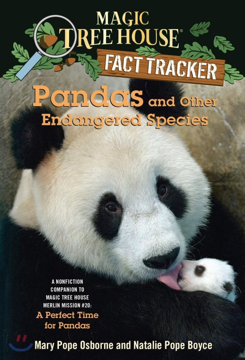 (Magic Tree House Fact Tracker #26) Pandas and Other Endangered Species