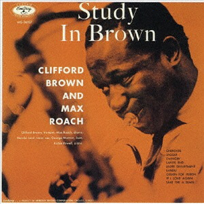 Clifford Brown & Max Roach - Study In Brown (UHQCD)(Limited Edition)(일본반)