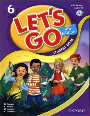 [4판]Let's Go 6 : Student Book with CD