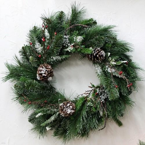 크리스마스리스-네츄럴(56cm)