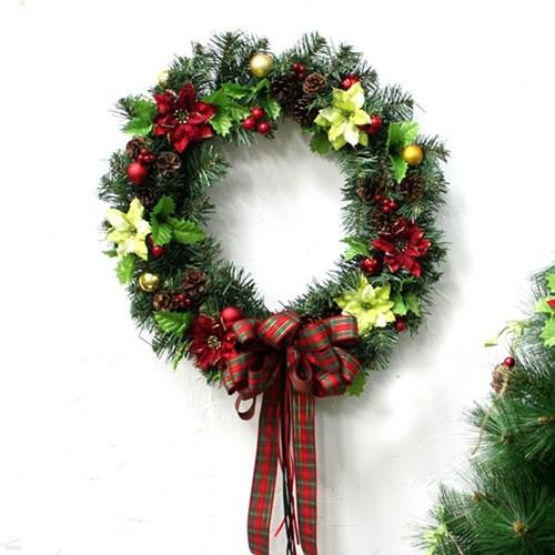 크리스마스리스-포인믹스(43cm)