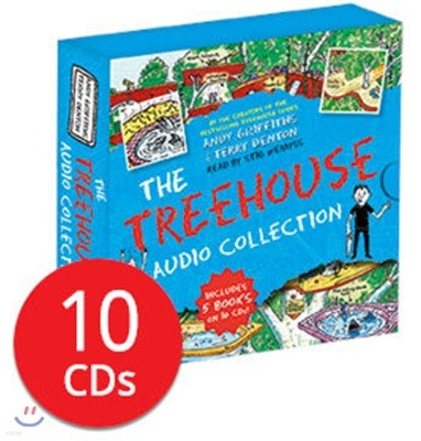 13층 나무집 시리즈 오디오북 5종 세트 (영국판 / 도서 미포함 / CD Only)