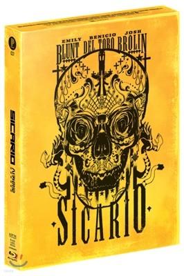 시카리오: 암살자의 도시 (스틸북 C타입 풀슬립 1,200장 넘버링 한정판) : 블루레이