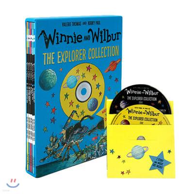 마녀 위니 익스플로러 컬렉션 6종 세트 (CD 2장 포함) : Winnie and Wilbur : The Explorer Collection