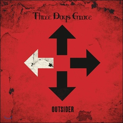 Three Days Grace (쓰리 데이즈 그레이스) - Outsider [LP]