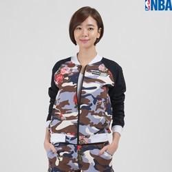 [NBA]BKN NETS 플라워패턴 ZIP-UP (SET UP) (N152TJ752P)