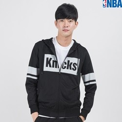 [NBA]NY KNICKS 사각로고 MESH HOODED ZIP UP (N152TJ010P)