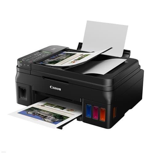 캐논 정품 무한 잉크젯 복합기 G4910 (잉크포함)